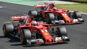 Vettel gana pole para GP de Hungría; Raikkonen segundo