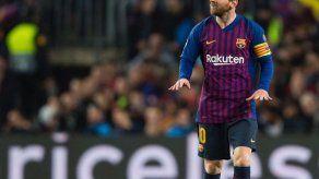 Messi titular con el Barça contra el Inter de Milán