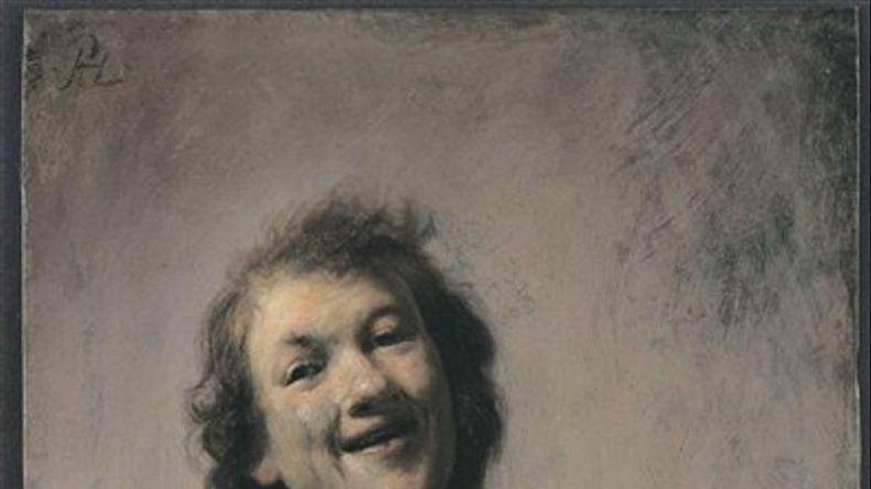 Autorretrato de Rembrandt causa sensación