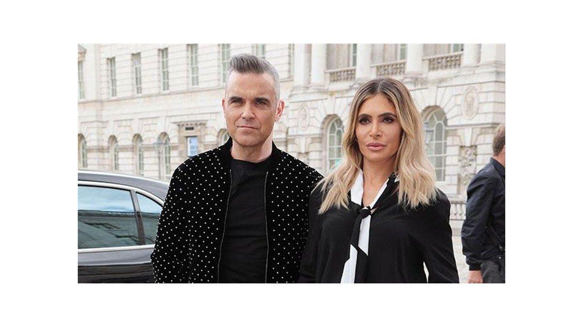 Robbie Williams y Ayda Field tienen entre manos a una futura estrella