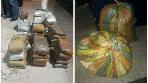 Decomisan 52 paquetes de presunta droga en La Boca de Pacora