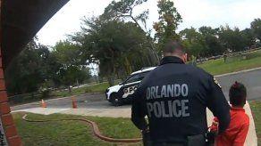 Video: niña en Florida llora suplicando no ser arrestada