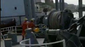 Investigan incidente entre dos buques frente a las esclusas de Pedro Miguel