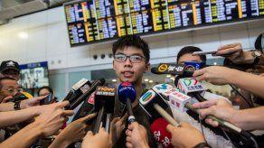 Tailandia deporta al activista de Hong Kong Joshua Wong