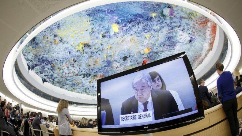 Jefe ONU presenta un plan de 7 puntos sobre derechos humanos