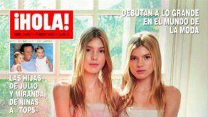 Las hijas gemelas de Julio Iglesias asistirán a la próxima gala del Met