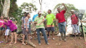 Invasores de tierra se oponen a posibles desalojos en Las Mañanitas
