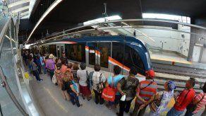 Metro de Panamá rompe récord con transporte de más de 283 mil pasajeros