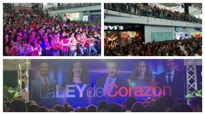 Panameños disfrutan una tarde con los actores de La Ley del Corazón