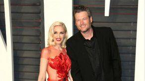 Gwen Stefani: afortunada de tener a Blake Shelton en su vida
