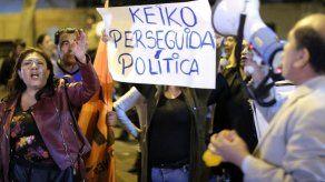 Keiko Fujimori y seis asesores a prisión preventiva por caso Odebrecht