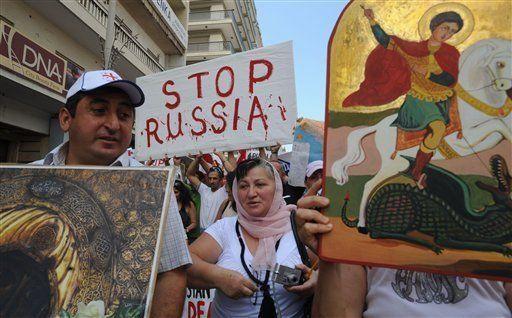 Grupo de los Siete pide a Rusia aceptar tregua con Georgia