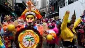 El carnaval seduce a Nueva Orleans