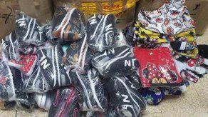 Retienen mercancía de dudosa procedencia en un depósito en la Zona Libre de Colón