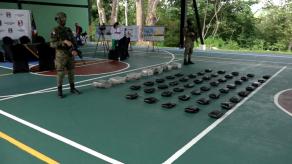 Fuerza Pública logró incautar más de 700 paquetes de droga durante Operación Escudo