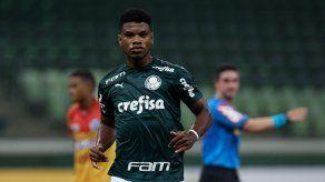Panameño Newton Williams inscrito con Palmeiras para el Campeonato Paulista