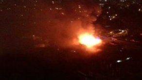 Se registra un incendio en el corregimiento de San Francisco