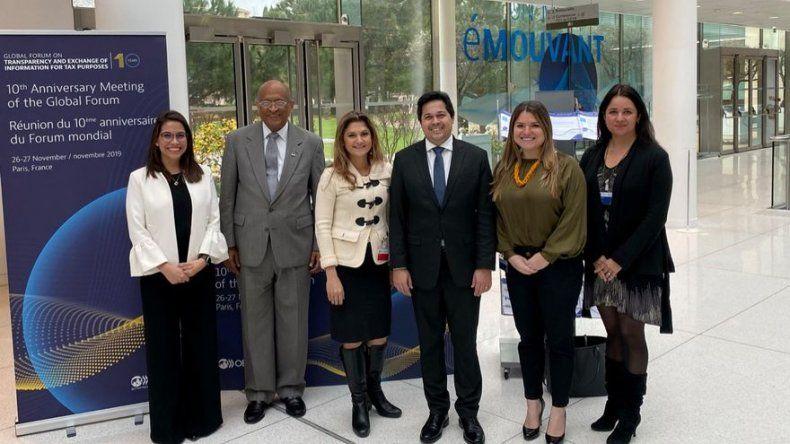 Panamá y Francia firman acuerdo de cooperación en transparencia fiscal