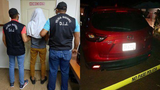 El hombre de 25 años de edad, vinculado al homicidio de Ken Karasawa en Milla 8 estaba vendiendo el vehículo del diseñador gráfico.