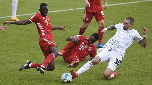 Bayern Munich empata ante Union Berlín en la Bundesliga