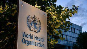 Logo de la Organización Mundial de la Salud (OMS).