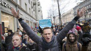 Navalni comparte una foto