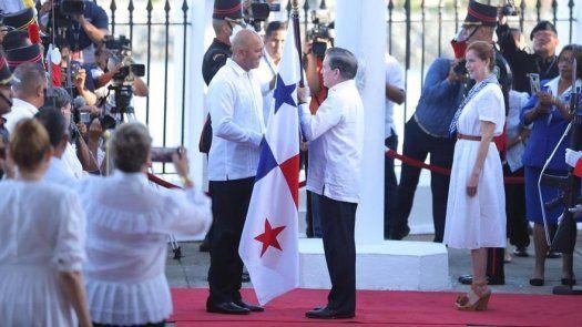 Con Mariano Rivera como abanderado celebran el Día de los Símbolos Patrios en ciudad de Panamá