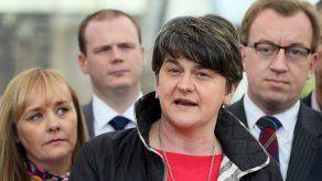 Adele Foster, primera ministra de Irlanda del Norte.