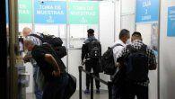 Realizan pruebas de COVID-19 en el Aeropuerto Internacional de Tocumen.