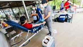 Centro del Parque Omar registra aumento de donantes de sangre