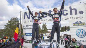 El francés Sebastien Ogier gana el Rally de Suecia