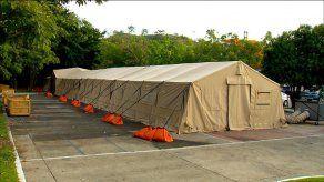 Hospital campaña en San Miguelito estará listo para finales de enero