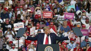 Trump realiza su primer mitin desde que enfermó de COVID-19