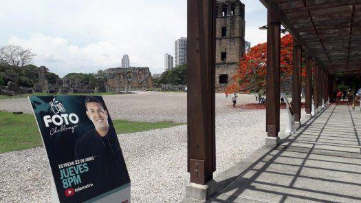 El lanzamiento de la 2da de temporada de Foto Challengeinvitó a recorrer el Sitio Arqueológico de Panamá Viejo.