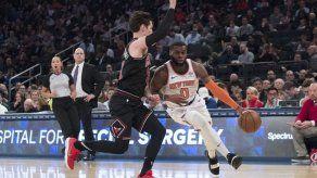 Knicks vencen a Bulls y rompen racha de 6 derrotas en fila