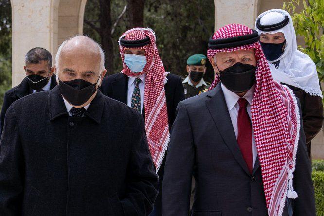 El príncipe Hamzah hizo llegar a los medios internacionales
