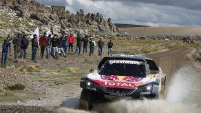 Sainz gana sexta etapa del Rally Dakar