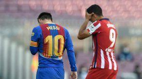 Atlético de Madrid empata 0-0 con el Barcelona y sigue líder