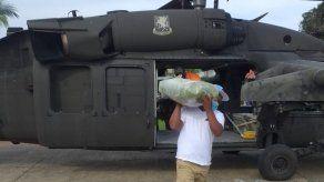 Transportan 81.31 toneladas de material para acondicionar y rehabilitar colegios en Darién