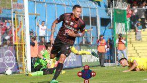 Blas Pérez marcó su 10mo gol con el Municipal de Guatemala