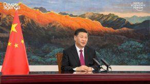 Xi defiende en Davos un mundo más unido y menos polarizado tras la pandemia