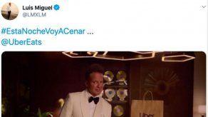 Luis Miguel se marca un Kim Kardashian de la mano de Uber Eats