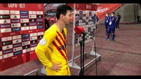 Lionel Messi campeón de la Copa del Rey