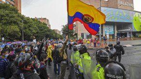 Protestas sociales en los últimos 4 días en Colombia por el proyecto de reforma tributaria presentado al Congreso.