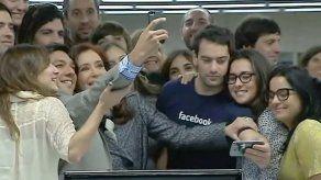 Cristina Fernández inaugura la sede de Facebook en Buenos Aires