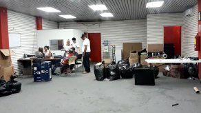 Delincuentes roban en empresa de envío de cargas en Zona Libre de Colón