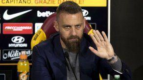 Daniele De Rossi deja la Roma tras 18 años