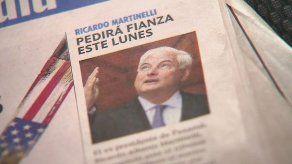 Medios de comunicación en EEUU registran proceso a expresidente Martinelli