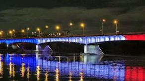 Países rinden homenaje a Panamá con proyecciones lumínicas del tricolor