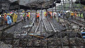 India: 5 heridos en desplome de puente peatonal en Mumbai